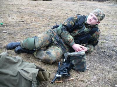 Тренировка 08-01-2012 (Быковня)...