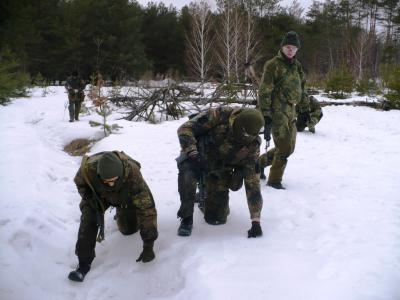 Тренировка 09-03-2013 Быковня...