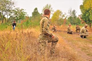 АМРФ. Тренировка формаций 2